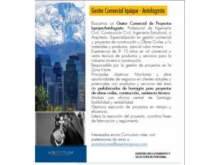 Gestor Comercial de Proyectos Iquique y Antofagasta
