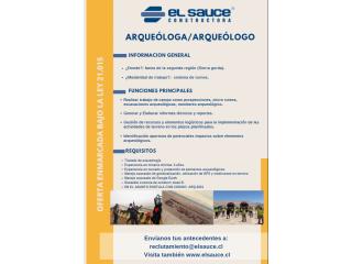 Arqueólogo/a (II región)