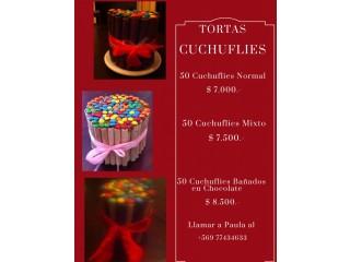 Tortas Cuchuflies