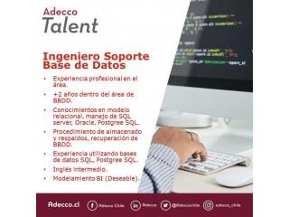 Ingeniero de Soporte de Base de Datos