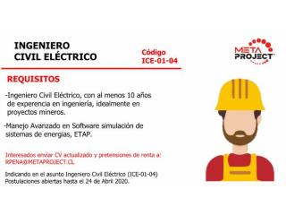 Ingeniero Civil Eléctrico