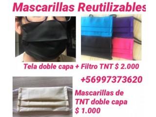 MASCARILLAS REUTILIZABLES