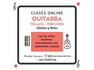 Aprender Guitarra, Teclado o Percusión