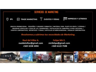 SERVICIOS DE MARKETING