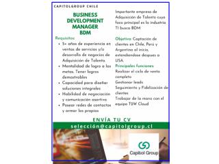 Business Development Manager BDM