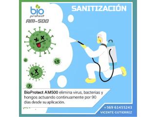 Sanitización con BioProtect AM500