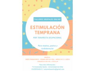 Talleres Estimulación Temprana para familias