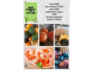 Huevos , Quesos y más