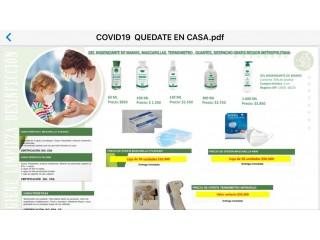 Productos de higiene, mascarillas y pediluvio / Covid
